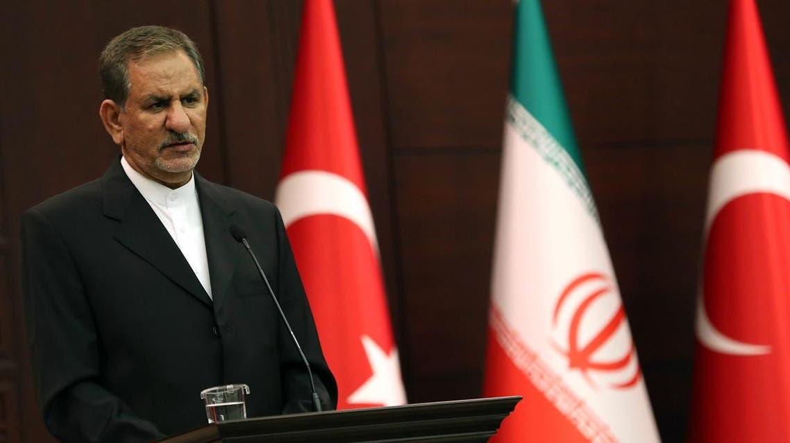 Iran's Vice-President Eshaq Jahangiri (AFP)