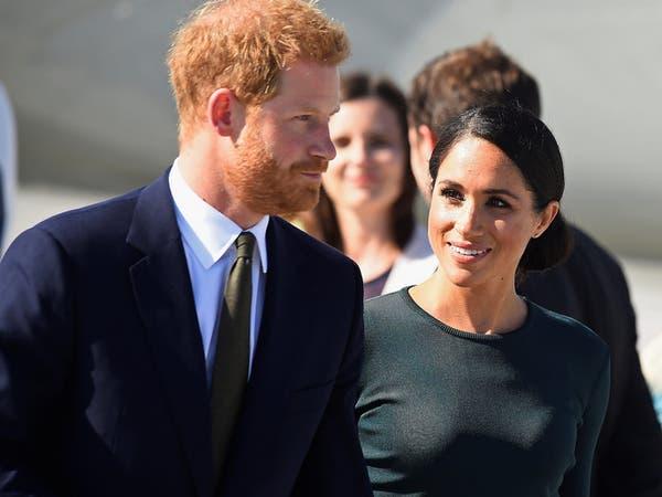 شاهد.. الأمير هاري وزوجته ينجوان من الموت بحادث طائرة