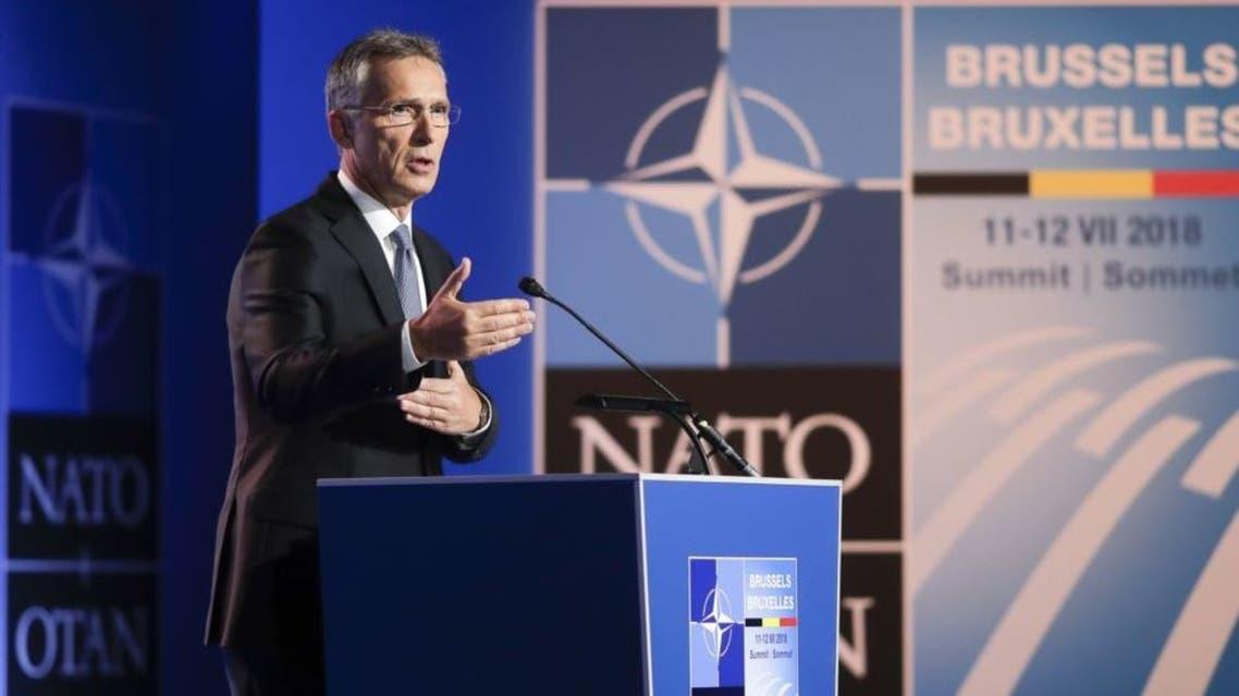 الأمين العام لمنظمة حلف شمال الأطلسي ينس ستولتنبرغ