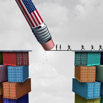 بريطانيا ترغب في التوصل لاتفاق تجارة مع أميركا منتصف 2021