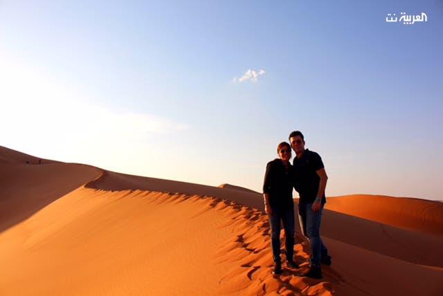 عشق للصحراء وأسرارها