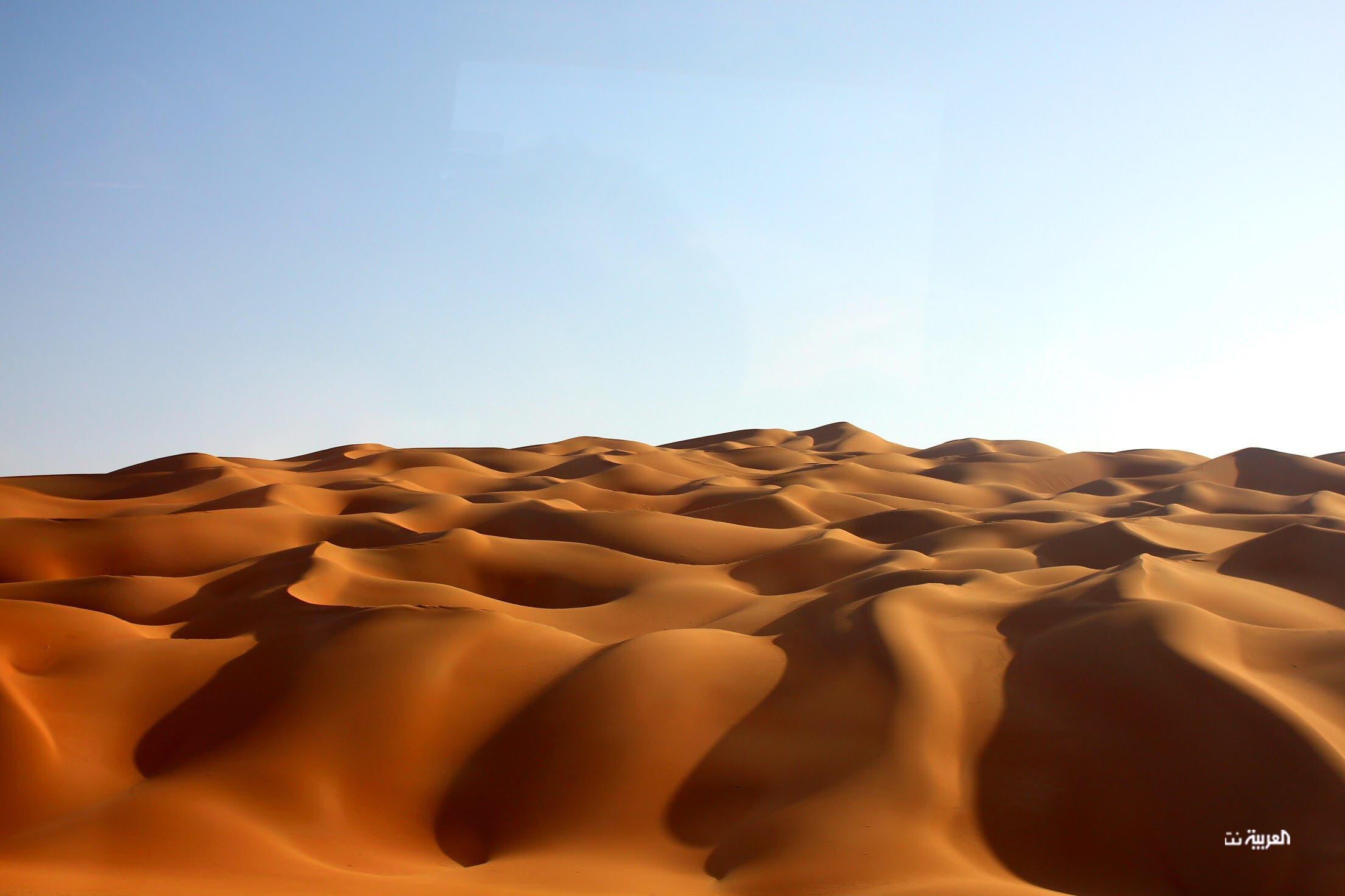 الاستمتاع بالكثبان الرملية