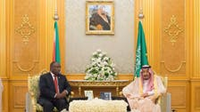 King Salman receives President of South Africa