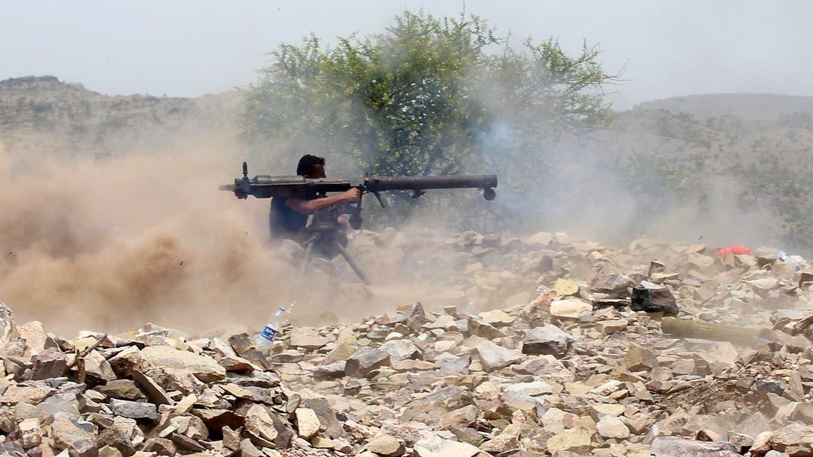 أحد عناصر الشرعية اليمنية