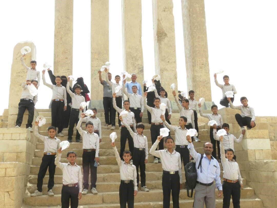 Yemen exchild soldiers KSRelief 8