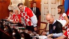 WATCH: Croat ministers wear football shirts to celebrate WC semi-final win