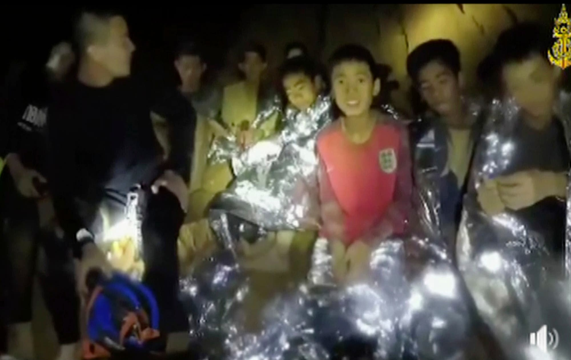 Thailand boys cave. (AP)