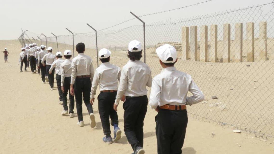Yemen exchild soldiers KSRelief 5