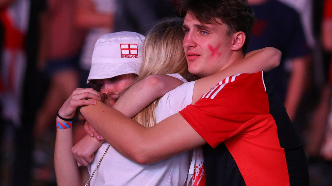 England World Cup loss. (Reuters)