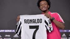 """كوادرادو يرحب برونالدو ويهديه الرقم """"7"""""""
