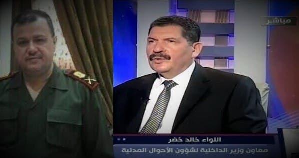 اللواءان في نظام الأسد خالد خضر وهشام تيناوي