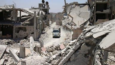 مقبرة جماعية تضم جثث 13 عنصراً من قوات النظام في درعا