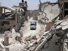جانب من الدمار في درعا (أرشيفية)