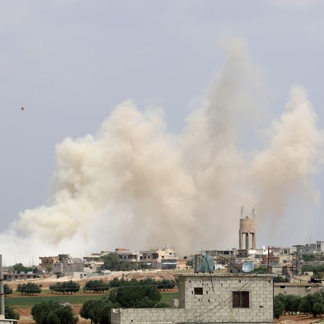 قصف لداعش على دير الزور.. وإصابة جنديين بريطانيين