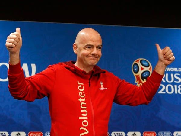 إنفانتينو: مونديال روسيا الأفضل على الإطلاق