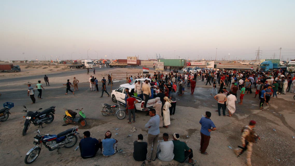 2018-07-13T183020Z_1121555349_RC19E1D38A40_RTRMADP_3_IRAQ-PROTESTS-PORT