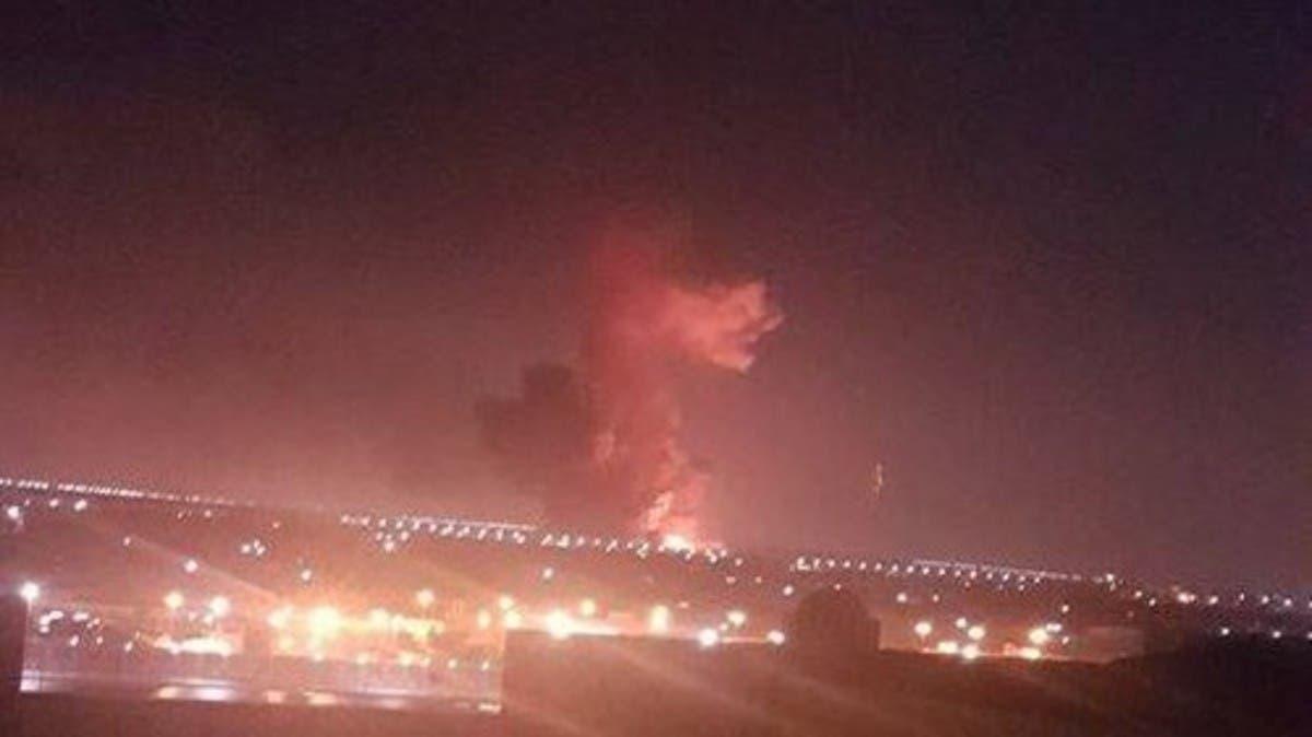 انفجار بالقرب من مطار القاهرة