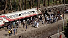 At least 58 injured as train derails in Egypt
