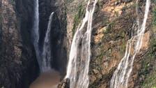 WATCH: Saudi waterfalls create beautiful scenes after heavy rainfall