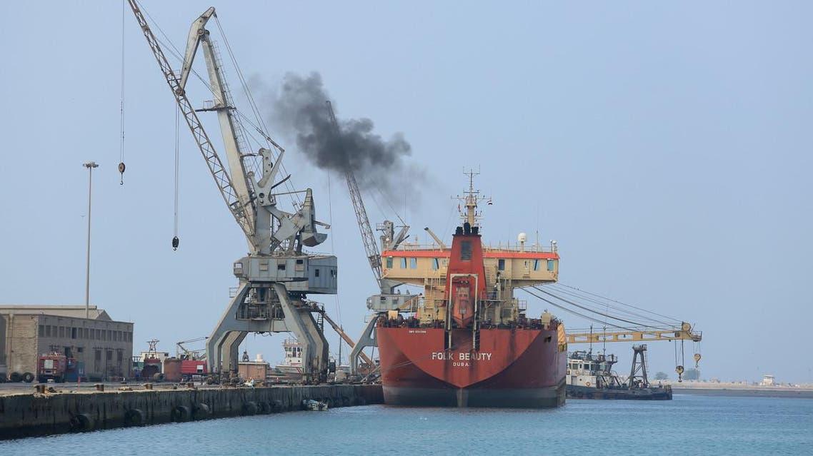Hodeidah port (Supplied)