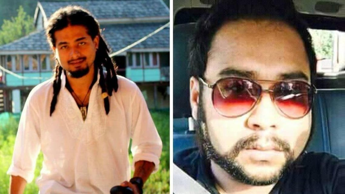 Gregarious, dreadlocked musician Nilotpal Das, 29, and his businessman friend Abhijeet Nath, 30, were both from Guwahati, capital of the northeastern state of Assam. (Supplied)