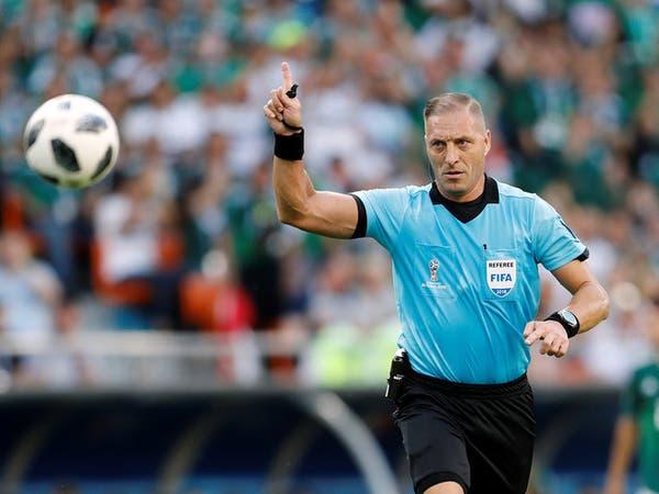 حكم نهائي المونديال.. ممثل مغمور وجد نفسه في كرة القدم
