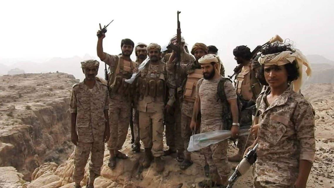 قوات من الجيش اليمني في شمال صعدة