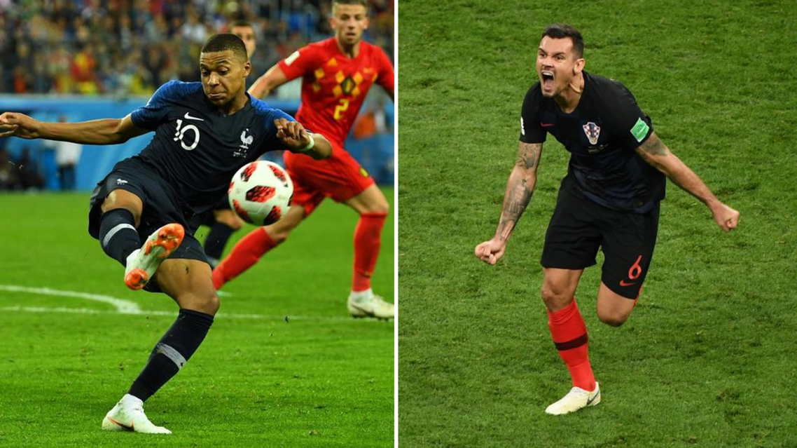 France's Kylian Mbappe (L) is favourite to win the Golden Ball at the 2018 World Cup. (Reuters)
