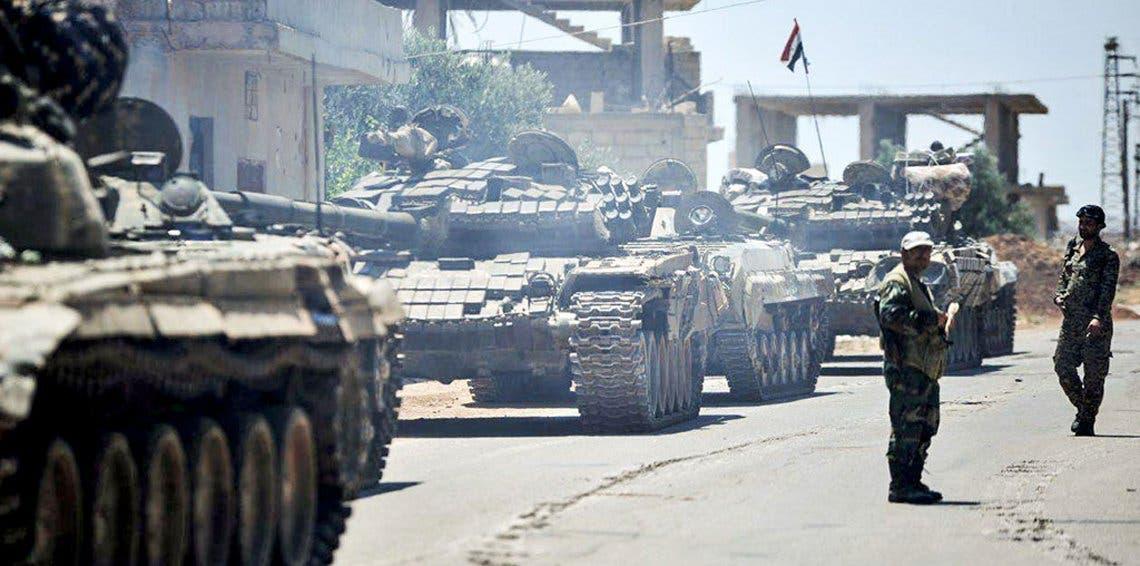 قوات النظام السوري في درعا