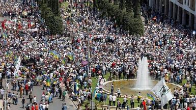 """الآلاف بالرباط يطالبون بإطلاق سراح شباب """"الحسيمة"""""""