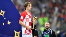 Croatia's Luka Modric loses final but wins World Cup Golden Ball