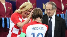 Pride and tears for Croatians after World Cup final loss