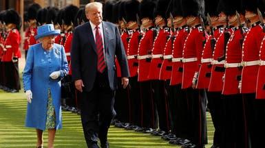 ترمب يتجاوز البروتوكول ويتحدث على لسان الملكة إليزابيث