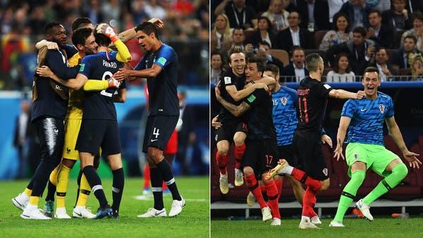 فرنسا وكرواتيا ترفضان تغيير الأسماء قبل النهائي