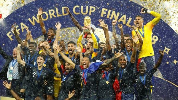 فرنسا تهزم كرواتيا وتتوج بطلة لكأس العالم 2018