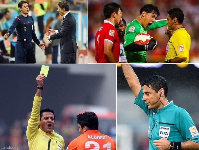 Iranian referee world cup. (Supplied)