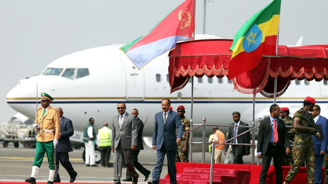 eritrea president arrived ethiopia after 22 years