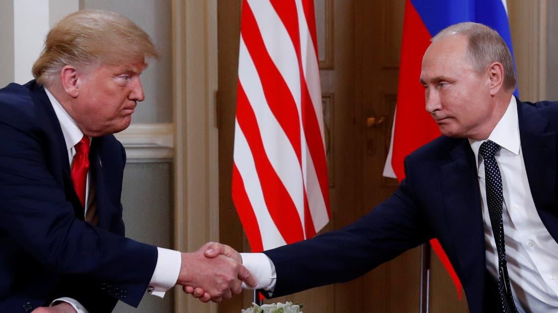 ترمب بوتين هلسنكي