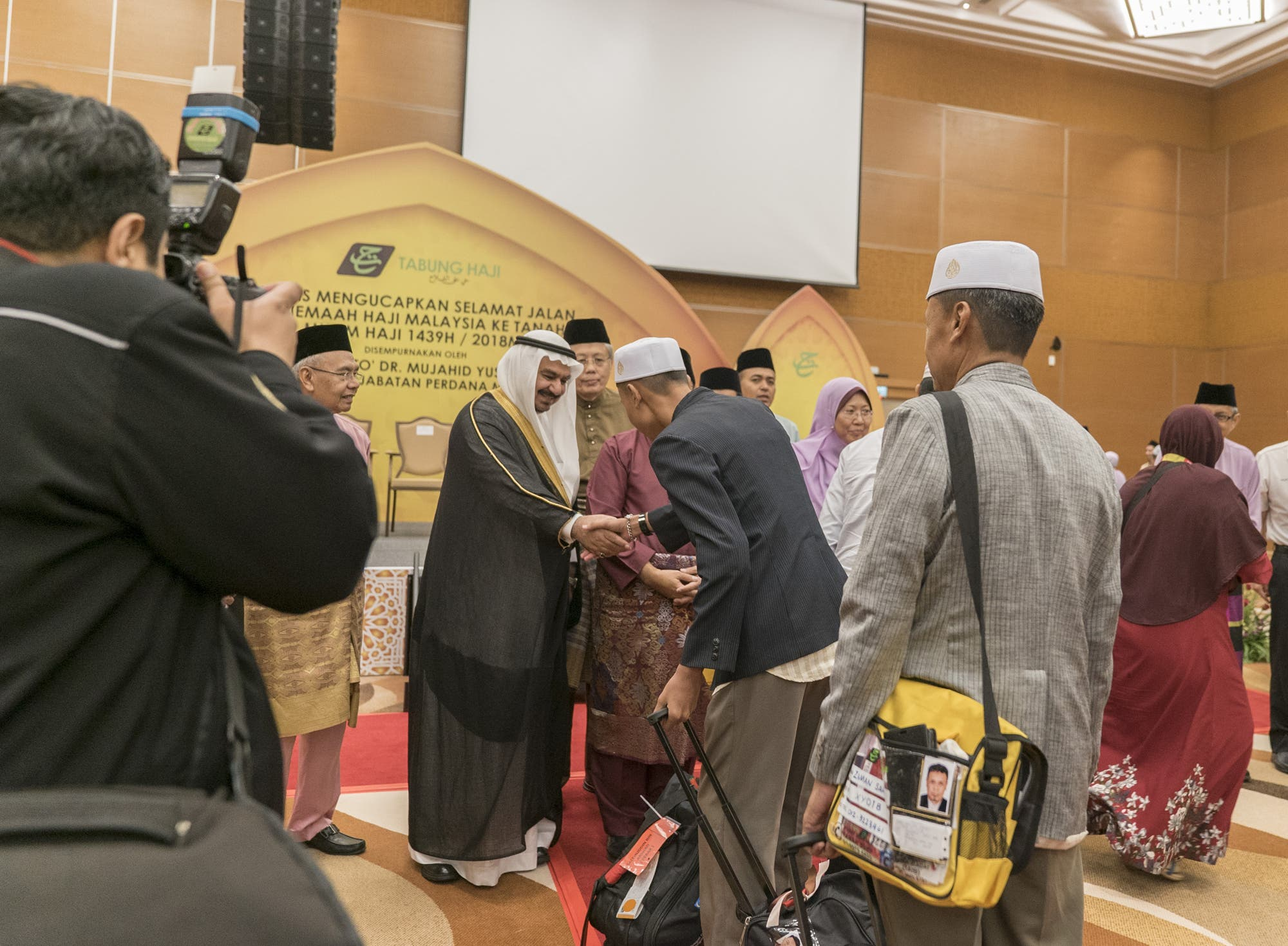 The Makkah Road Initiative has been official launched by commissioning the first two flights of pilgrims from Kuala Lumpur International Airport.