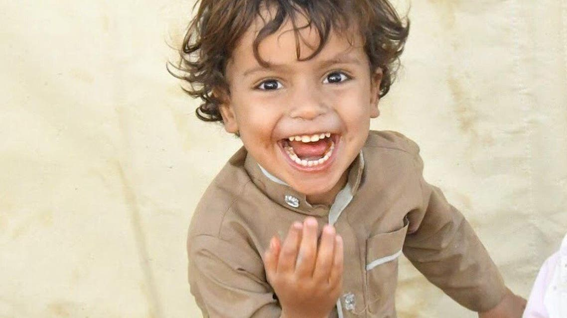 Smiling yemeni boy. (Supplied)