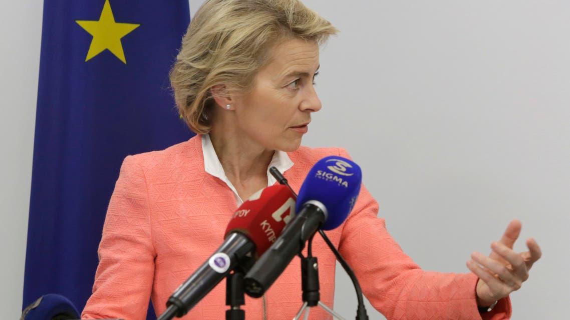 Ursula von der Leyen أورسولا فون دير لاين وزيرة الدفاع الألمانية