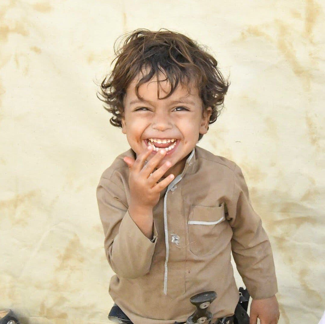 Smiling yemeni boy. (Supplied)