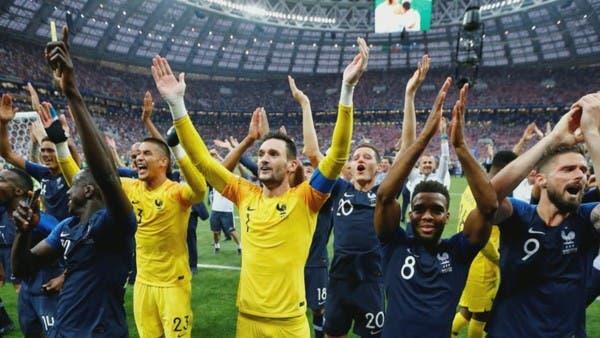 فرنسا تحقق عدة إنجازات بعد نهائي المونديال