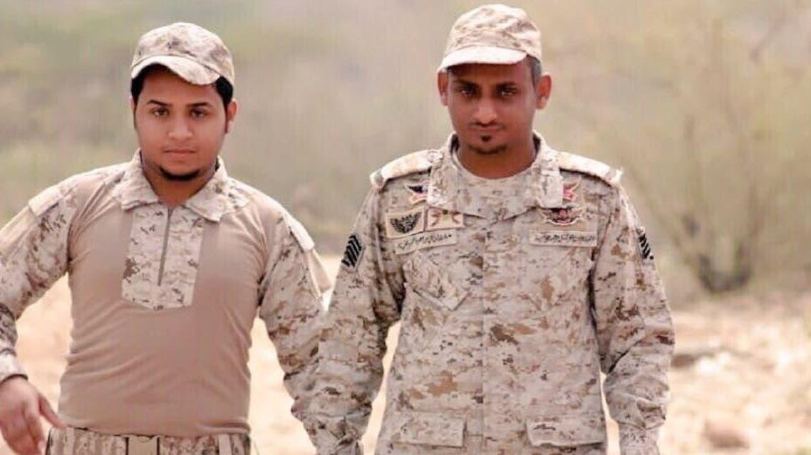 الرقيب غلفان خبراني وابنه ابراهيم خبراني 2