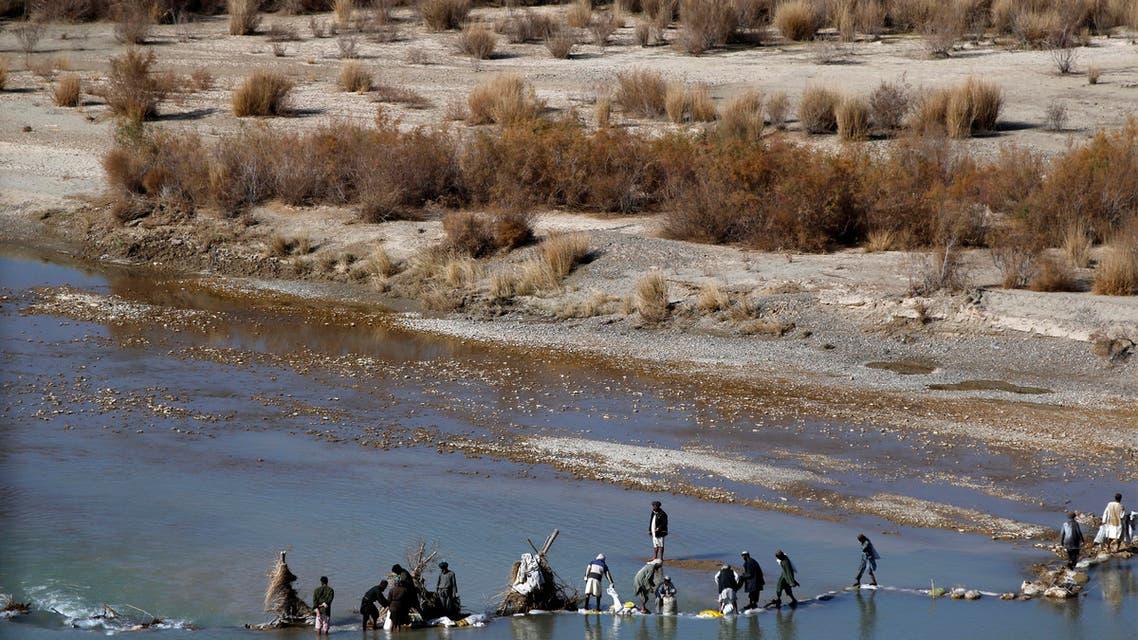 Helmland river afghanistan. (AP)