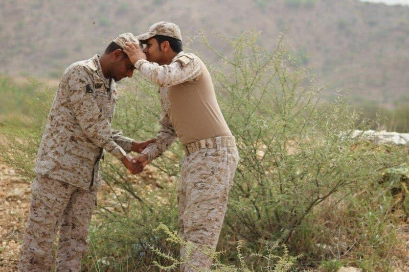 الرقيب غلفان خبراني وابنه ابراهيم خبراني