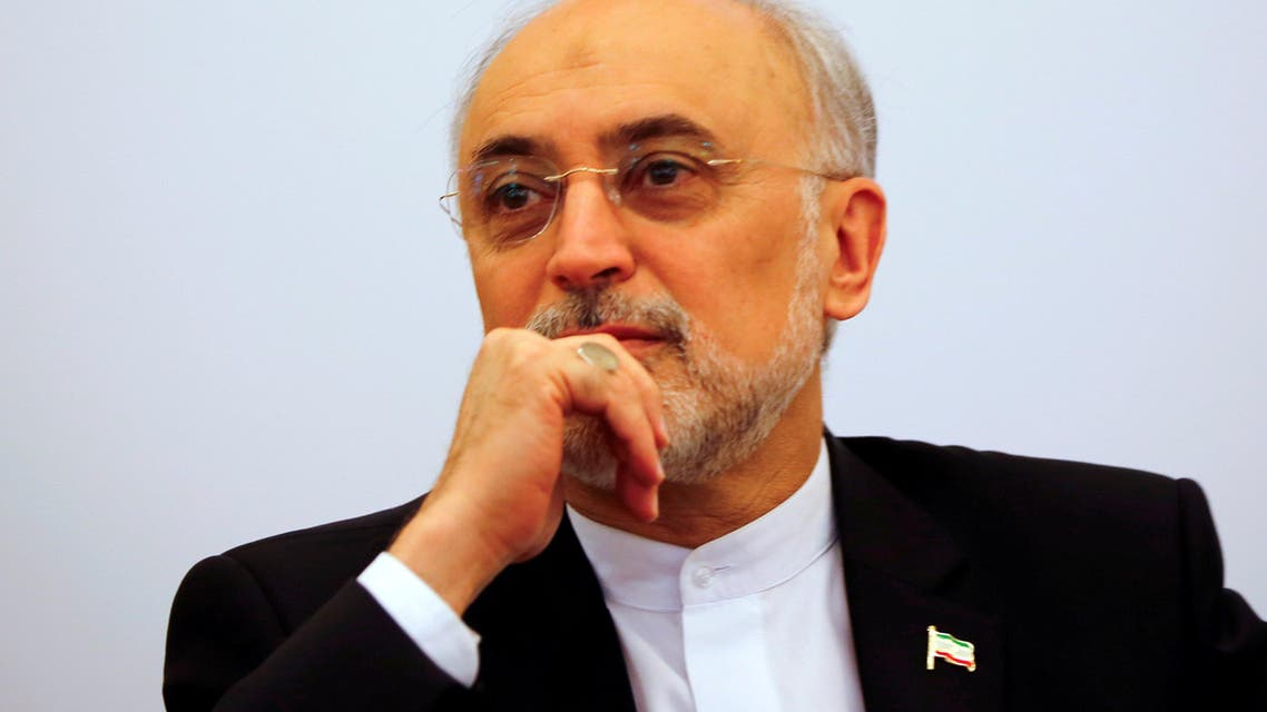"""Head of the Iranian Atomic Energy Organization Ali Akbar Salehi attends the lecture """"Iran after the agreement: Hopes & Concerns"""" in Vienna, Austria, September 28, 2016. REUTERS"""
