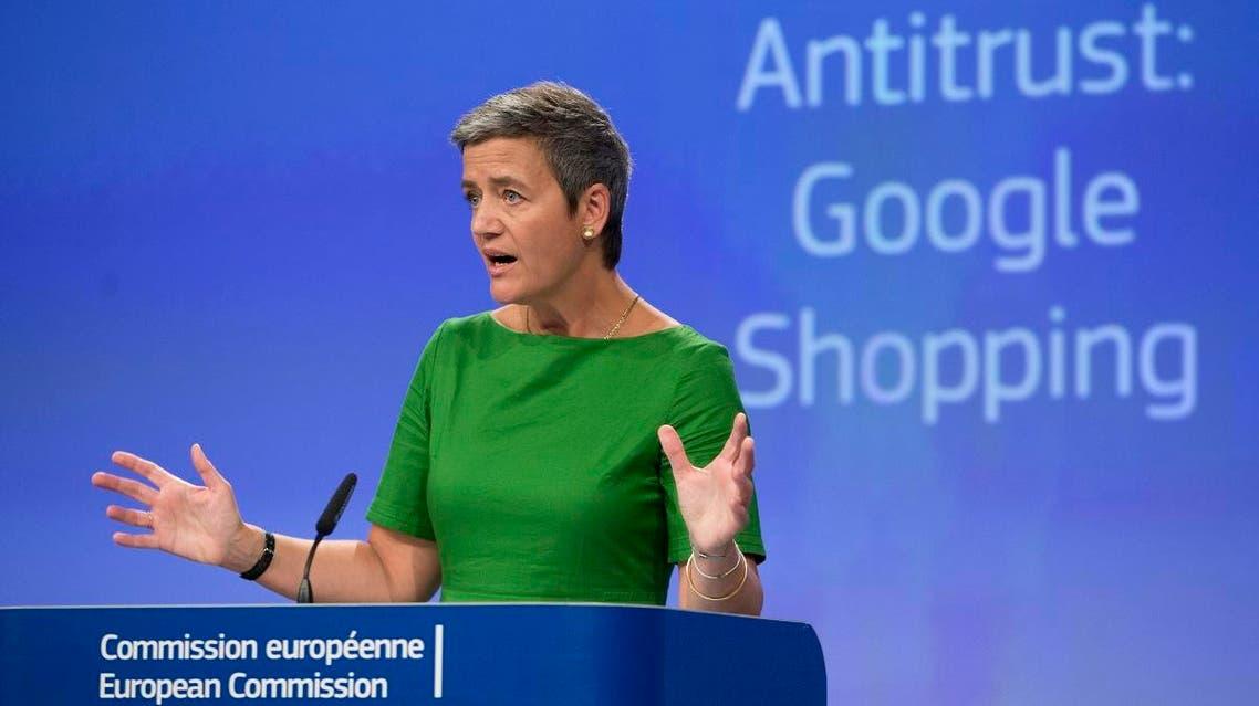 European Union Commissioner for Competition Margrethe Vestager (AP)