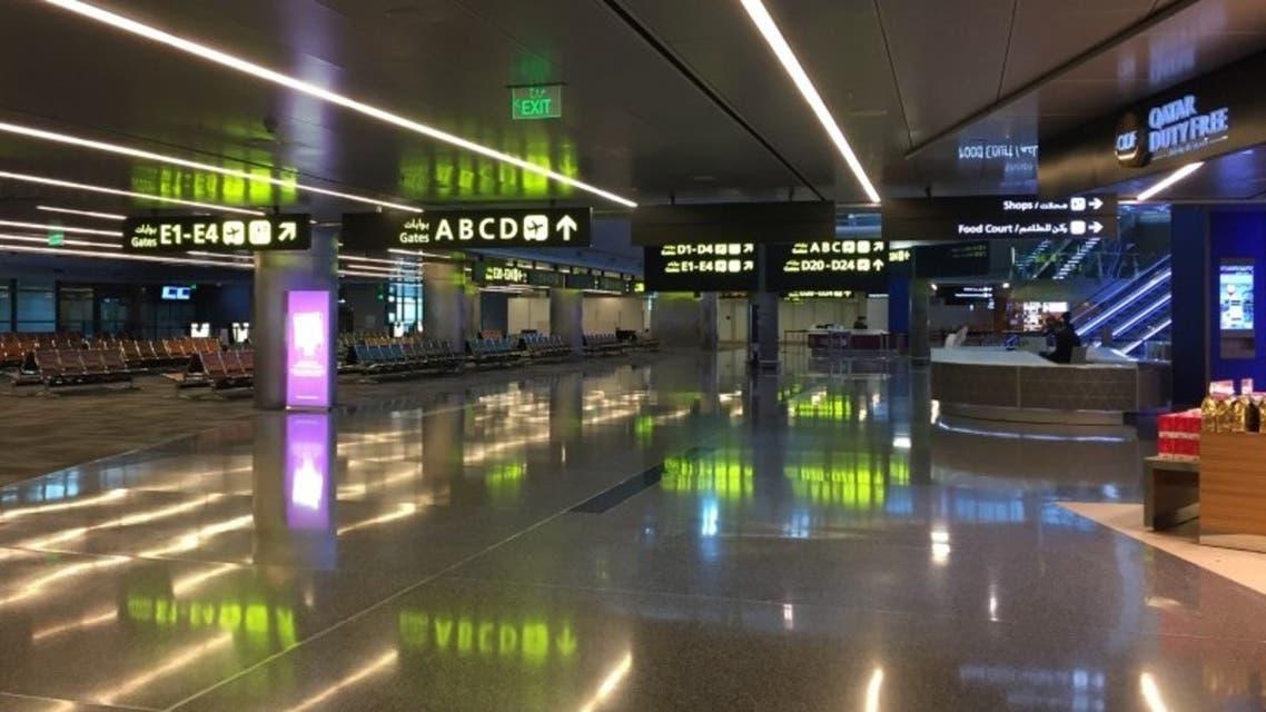 مطار حمد الدولي بالدوحة