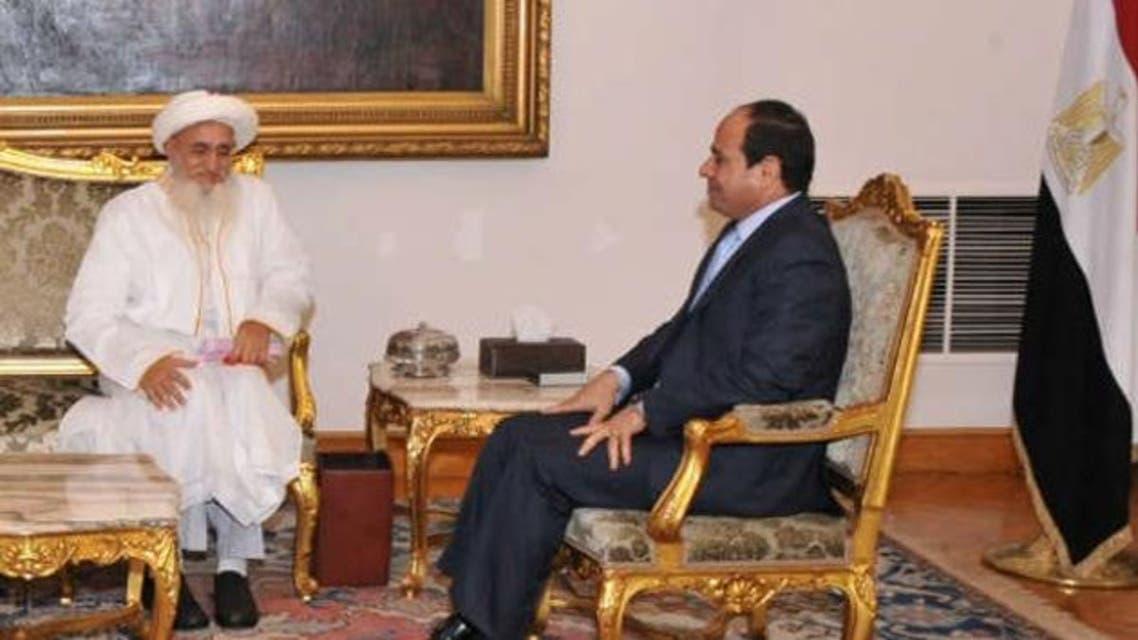 bohra sultan egypt president Egyptian presidency